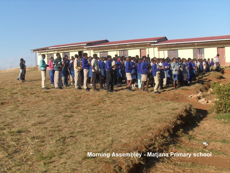 Morning Assembly- Matjana Primary School