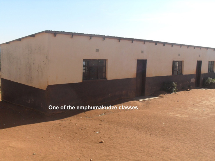 One of the Emphumakudze Classrooms